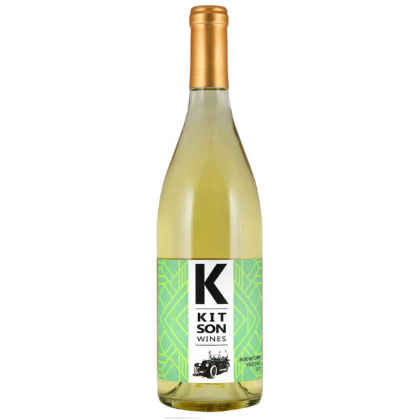 Decko White Wine Bottle Shot